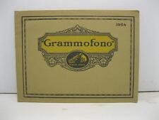 Anonimo, Grammofono 'La voce del padrone' 1924