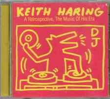 KEITH HARING A Retrospective, The Music Of His Era CD (1997) Junior Vasquez