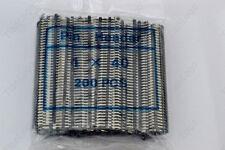 100pc black 40pin 2.54mm Single Row Breakaway Male Pin Header for Arduino uno R3