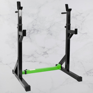 Adjustable Squat Rack Dipping Station Weight Lifting Home Gym Equipment Fitness