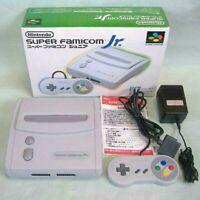 NINTENDO SUPER FAMICOM JR SF JR NTSC-J SHVC-101 CONSOLE SYSTEM JAPAN F/S