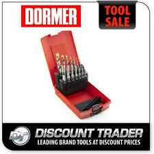 Dormer A002 Drills and E500 HSS MC Tap Set 14 Piece L115101