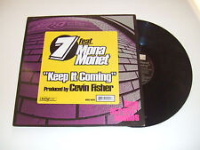 "7 Featuring Mona Monet-Keep It Coming (Part 1)–Disco 12"" Vinile USA 2001 House"