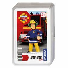 Mau Mau Kids | 32 Spielkarten | Feuerwehrmann Sam | Kartenspiel Kinder