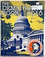 1936 DEMOCRAT PARTY President ROOSEVELT Democratic ADVERTISING Dime WORLD WAR 2