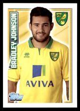 Topps Premier League 2013 - Bradley Johnson Norwich City No. 160