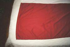 Dark Red Tailored Queen Bed Skirt