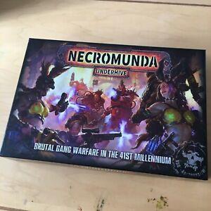 Games Workshop NECROMUNDA UNDERHIVE Starter box Complete!!!