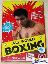 1991 All World Boxing Factory Sealed Box-Muhammad Ali!  Very Rare