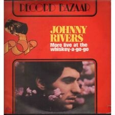 Johnny Rivers Lp Vinile More Live At The Whiskey-A-Go-Go / Record Bazaar Nuovo