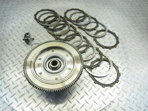 2013 Harley Davidson HD Dyna Clutch Basket Inner Outer Platers Friction