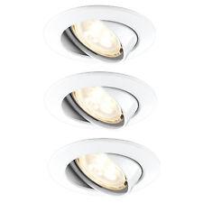 3er Set Paulmann 925.34 Premium Line LED Einbauleuchte dimmbar schwenkbar 3x4W