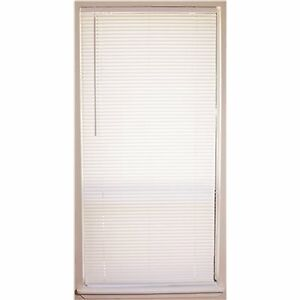 ✅ 2 Pack- 1 Inch Vinyl Mini Blinds in 2 Colors / White or Alabaster