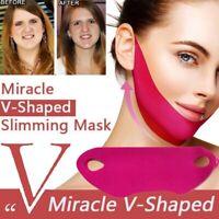 Thin Face Lifting Mask Firming Slimming Double Chin Cheek V Shape Facial Sheet