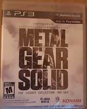 Metal Gear Solid The Legacy Collection  PS3  PRECINTADO NUEVO ESPAÑOL CASTELLANO