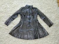 PVC-U-Like PVC Skater Dress XL Clear Black Flared Mini Roleplay Sissy Plastic