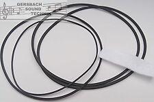 Vierkant Riemen Set Philips N 4414/4415  Rubber drive belt kit + Kopffilz NEU