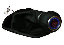 Pommeau de vitesse en cuir lumineux  + couverture de levier  vw passat golf lupo