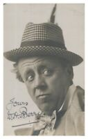 Antique W H Berry hand signed autograph photographic postcard actor