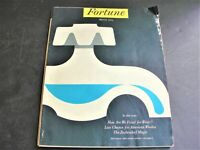 Fortune Magazine March 1954-Great Photos, Illustrations, Articles and Ads.