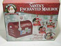 Mr. Christmas Santa's Enchanted Mailbox  24061 Christmas Decor NIB Send Letter
