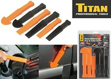 6 Piece Titan 15048 Trim Panel Tool Multi Wedge Non Marring New Free Shipping