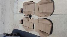 AUDI A4 00-05 QUATTRO SEAT KIT SET FRONT BLACK GERMAN VINYL BEAUTIFUL NEW
