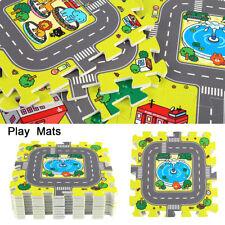 Large 90*90cm Kids Baby Children Foam Play Floor Mat Set Interlocking Puzzle