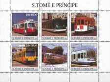 Timbres Trains Tramways St Thomas 1680/5 ** de 2003 lot 24585 - cote : 12,50 €
