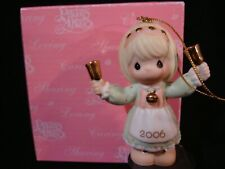 New ListingPrecious Moments Ornaments-Ringing In The Season-2006 Dated Limited Edition