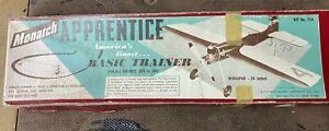 Monarch Apprentice Basic Trainer Airplane Wood Kit T24