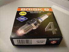 4X BRISK DR15YS-9 LPG CNG SILVER SPARK PLUG = BCP6E-11 BKR6E-11 PFR6B-11 ZFR6A