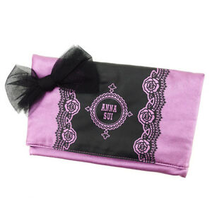 Anna Sui Clutch bag Purple Woman Authentic Used T2814