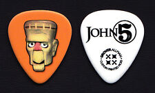 Rob Zombie John 5 Mad Monster Party Frankenstein Fang Guitar Pick - 2015 Tour