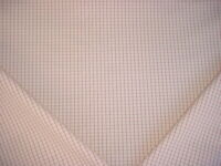 1-1/4Y WAVERLY P KAUFMANN BLUSH PINK COTTON PICNIC CHECK UPHOLSTERY FABRIC