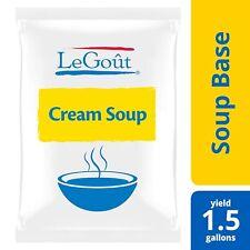 Base De Sopa De Crema Vegetariana, Sin Gluten, Sin Saborizantes Artificiales O