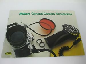 Nikon General Camera Accessories Booklet F2
