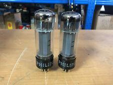 Pair Mullard Blackburn Philips 6CA7 EL34 Vacuum Tubes Tested Guaranteed! XF2