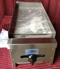 New 12 Griddle Lp Propane Gas Flat Top Restaurant Grill Stratus Smg 12 Lp 7150