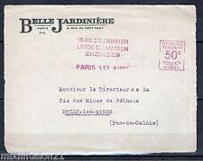 LETTRE/FRAGMENT /VIEUX PAPIERS**BELLE JARDINIERE//LINGE DE MAISON/PUBLICITAIRE//