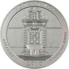 2010-P US America the Beautiful 5 oz. Silver Uncirculated Coin - Hot Springs
