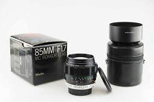 Minolta MC Rokkor 1,7 85 mm Lens 85627
