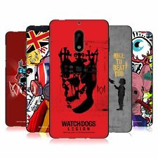 OFFICIAL WATCH DOGS: LEGION STREET ART BLACK GEL CASE FOR MICROSOFT NOKIA PHONES