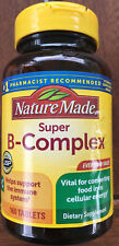 Nature Made Super Complejo B Tab 160 Ayuda Sistema Inmune con Vitamina C 11/21