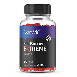 OstroVit Fatburner EXTREM 90 Kapseln hochdosiert Diät Abnehmen Appetitzügler