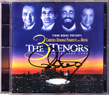 Placido DOMINGO Signiert 3 Tenors in LA 1994 CARRERAS PAVAROTTI ZUBIN MEHTA CD