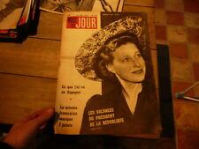 magazine hebdomadaire NUIT ET JOUR  n° 139 1947 madame paul auriol