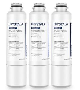 3X Crystala DA29-00020B Refrigerator Water Filter Compatible Samsung DA29-00020A
