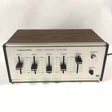 Realistic Stereo Frequency Equalizer Model # 31-1986 Looks Great Works Smooth!