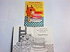 1 Birthday Greeting Card/Envelope Humorous Drinking Game Adult Candles Frat Shot